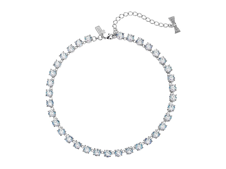 Kate Spade New York - Fancy That Small Necklace (White Patina) Necklace