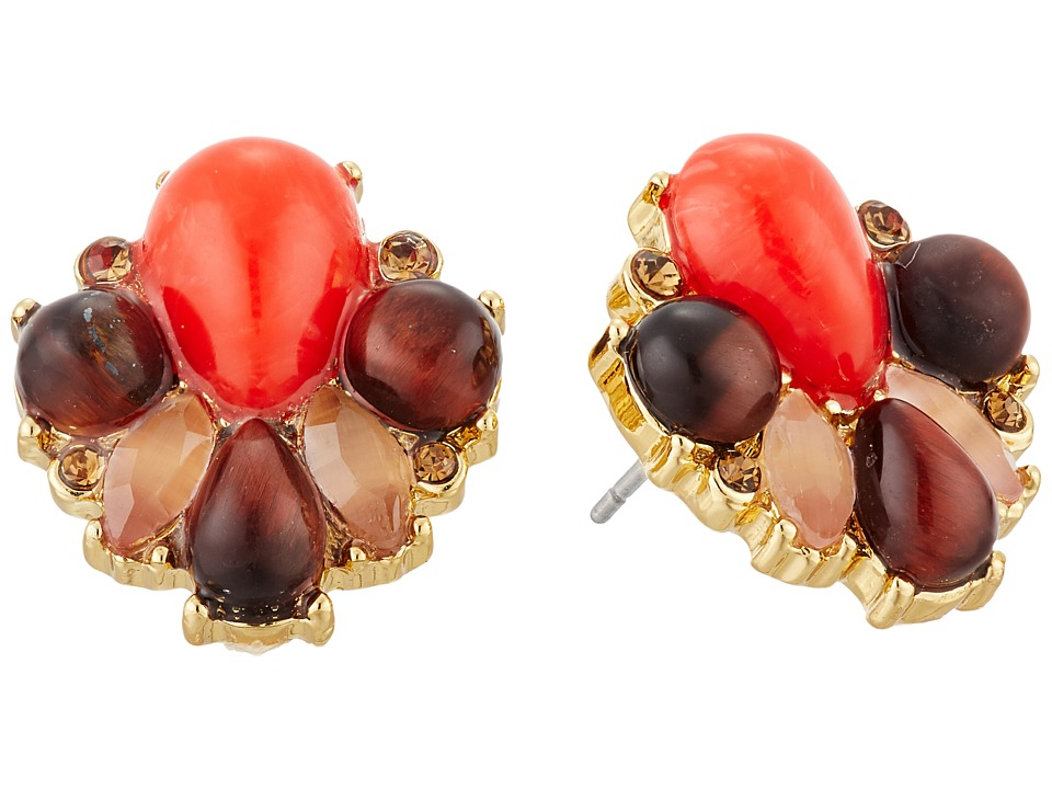 Kate Spade New York - Burst Into Bloom Cluster Studs Earrings (Multi) Earring