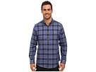Calvin Klein Long Sleeve Yarn-Dyed Light Plaid Woven Shirt