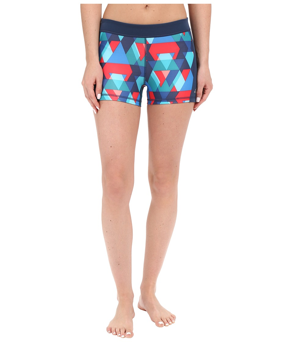 adidas Techfit 3 Shorts Print (Multicolor Print) Women