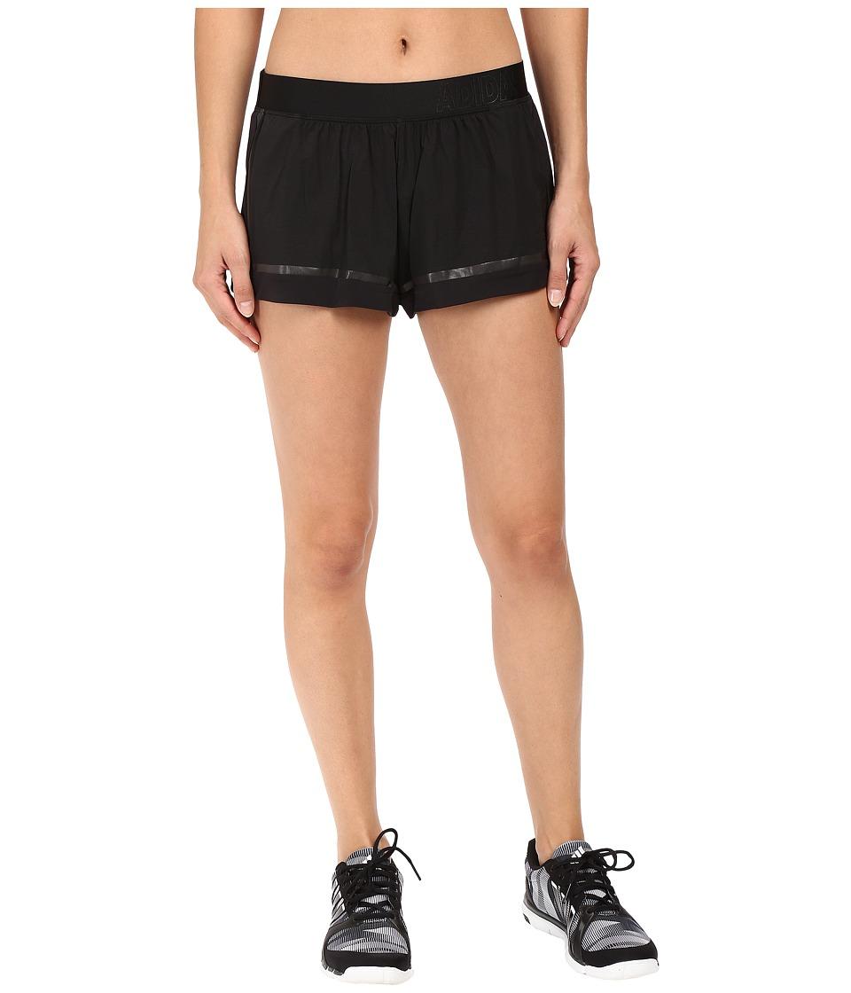 adidas - Standard 19 Woven Shorts (Black) Women's Shorts