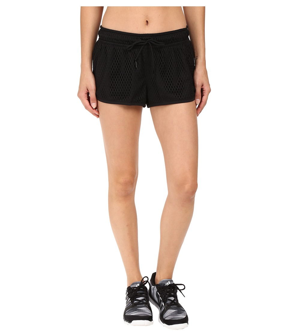 adidas - Adigirl Post Up Shorts (Black) Women's Shorts