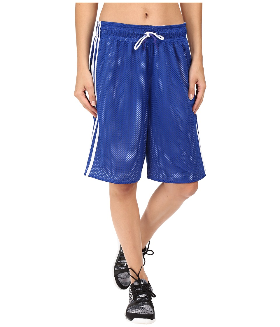 adidas - Basketball Mesh Shorts (Collegiate Royal Blue/White) Women's Shorts