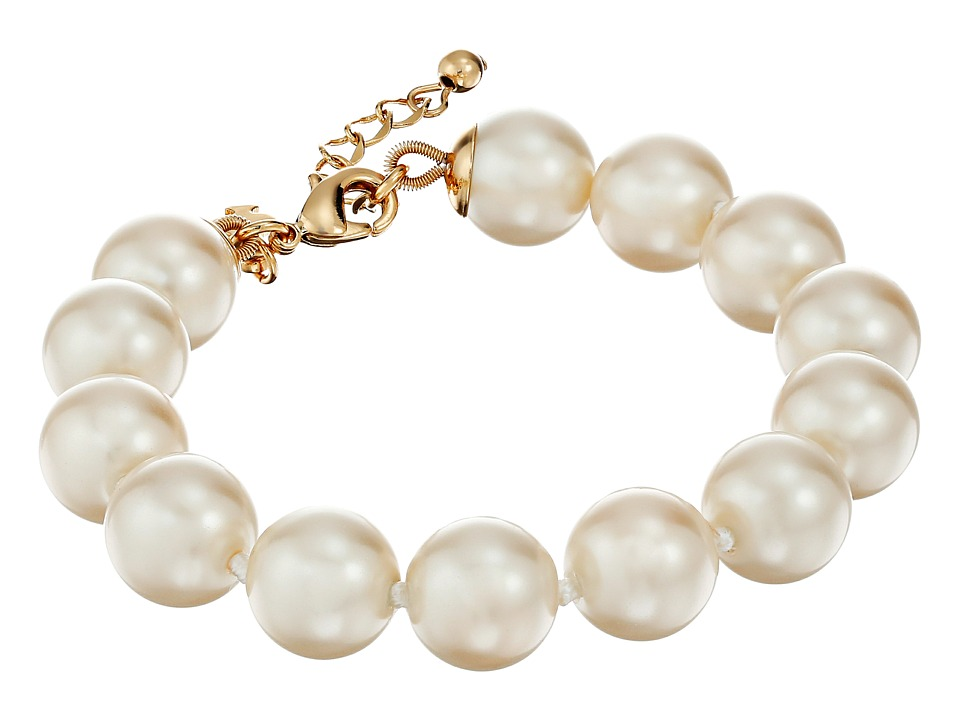 Kate Spade New York - Her Day to Shine Pearl Bracelet (Cream) Bracelet