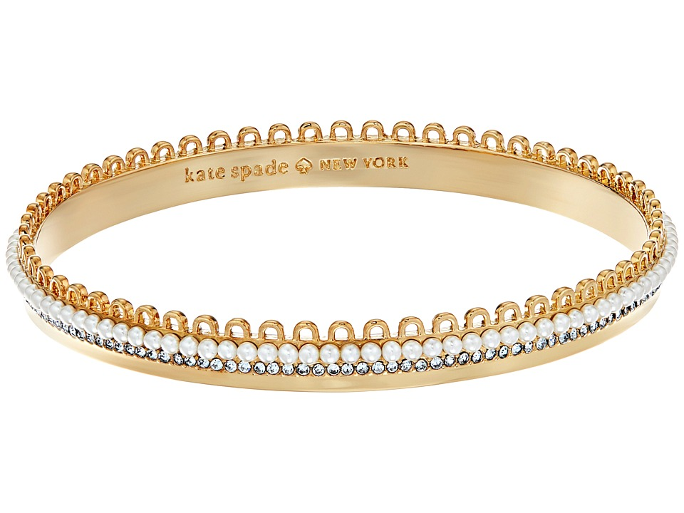 Kate Spade New York - Chantilly Charm Bangle (Cream Multi) Charms Bracelet
