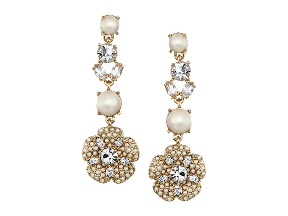 Kate Spade New York - Posy Petals Linear Earrings (Multi) Earring