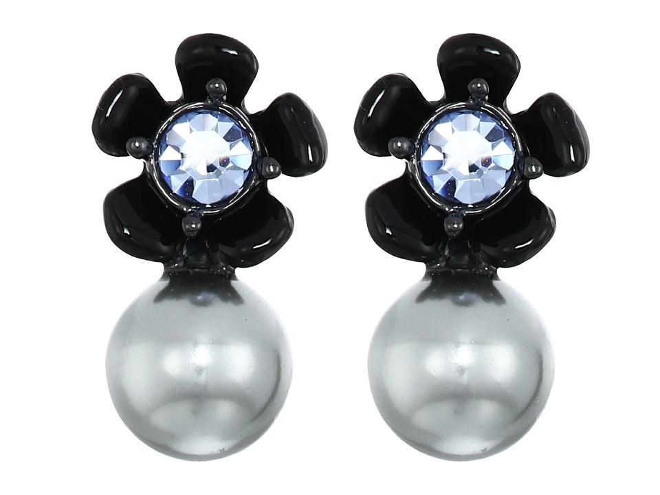 Kate Spade New York - Precious Petals Studs Earrings (Blue Multi) Earring