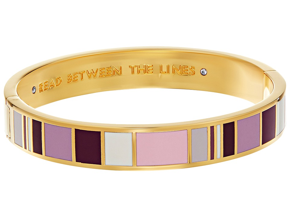 Kate Spade New York - Idiom Bangles Read Between The Lines Bracelet - Hinged (Multi) Bracelet