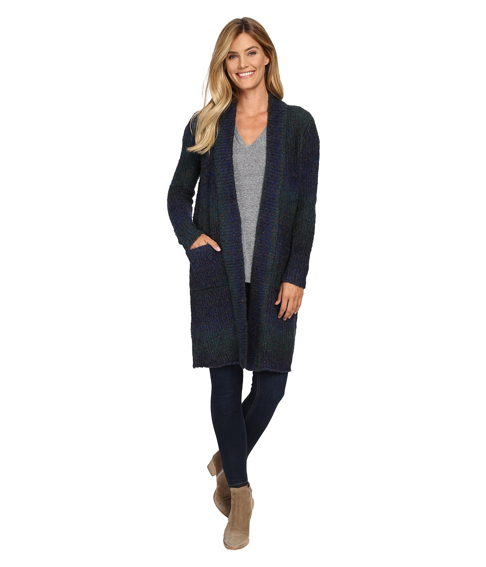 NYDJ - Melange Cardigan (Deep Saphire) Women's Sweater