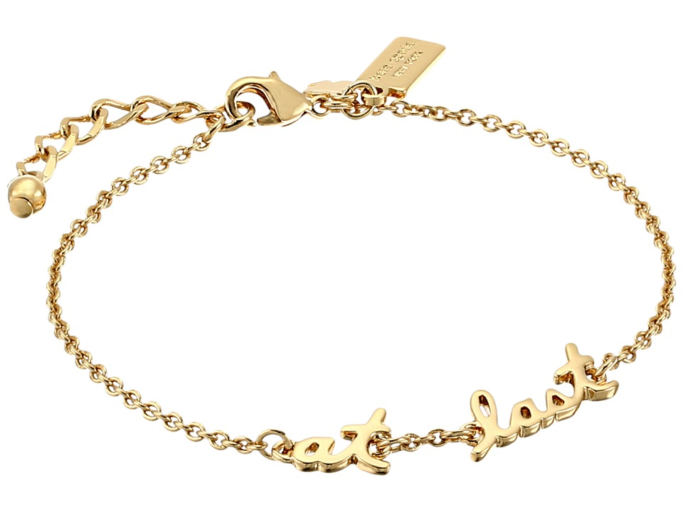 Kate Spade New York - Say Yes At Last Bracelet (Gold) Bracelet