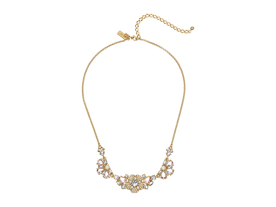 Kate Spade New York - Posy Petals Mini Necklace (Multi) Necklace