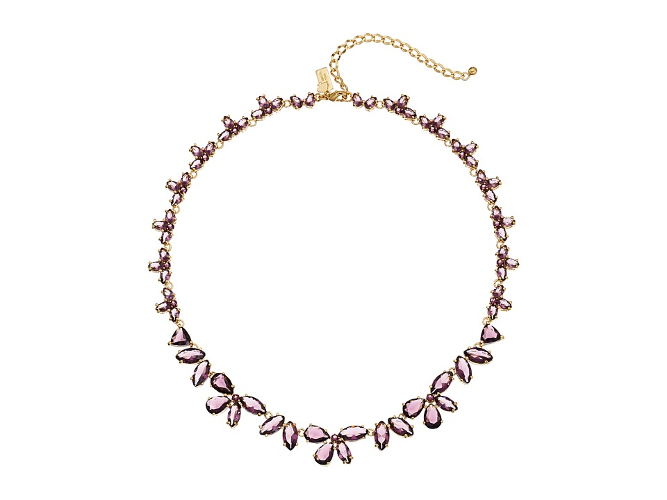 Kate Spade New York - To The Nines Necklace (Amethyst) Necklace