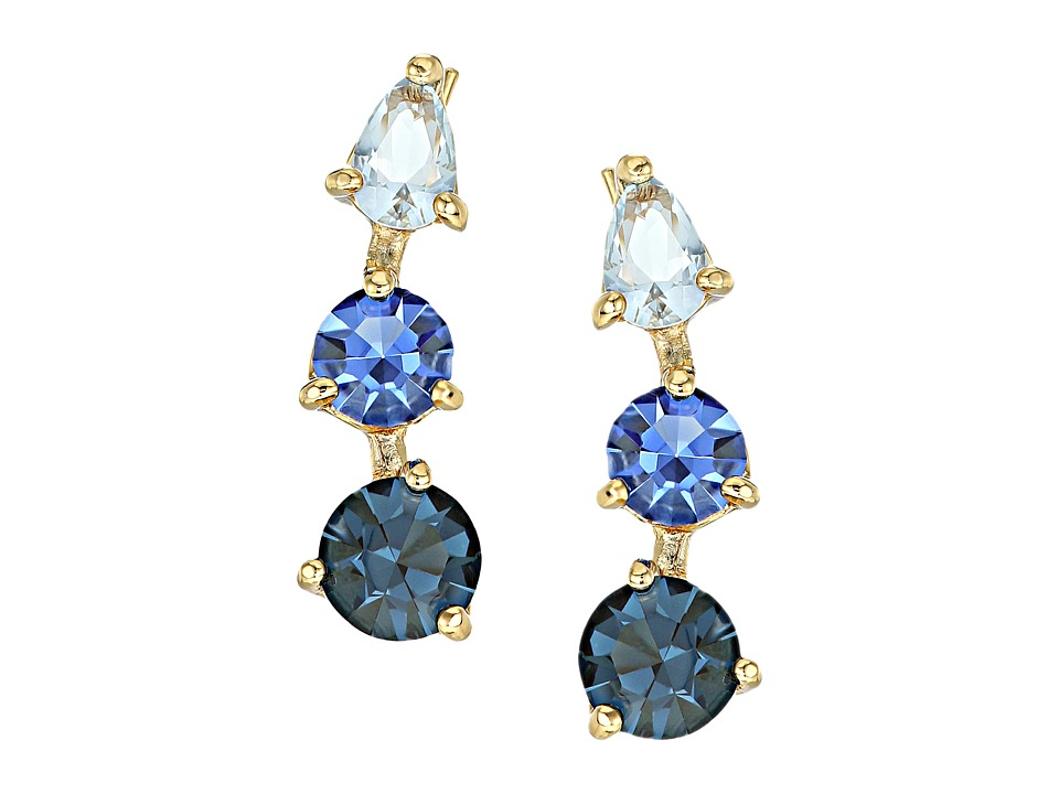 Kate Spade New York - Shine On Ear Pins Earrings (Blue Multi) Earring