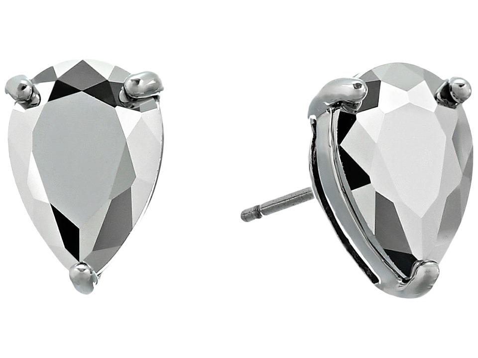 Kate Spade New York - Shine On Teardrop Studs Earrings (Silver) Earring