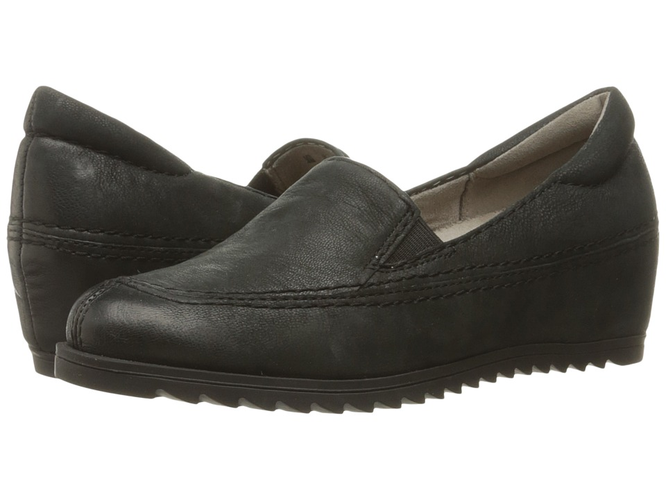 Naturalizer - Harker (Black Leather) Women's Shoes