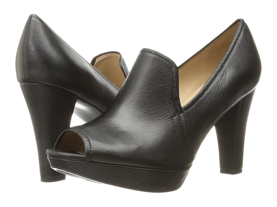 Naturalizer - Kaneli (Black Leather) Women's Shoes