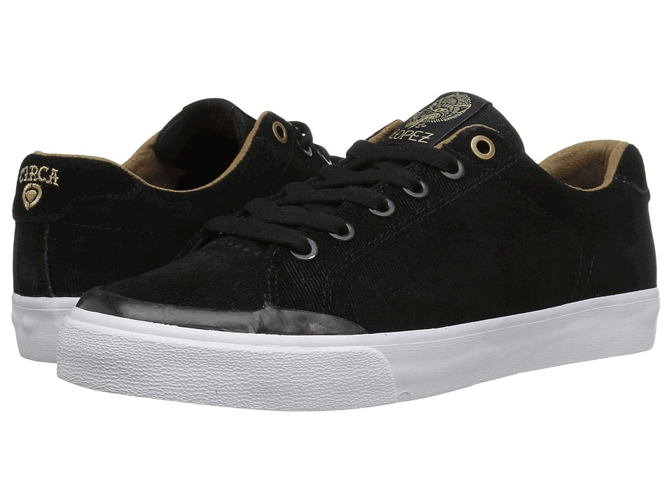Circa - AL50R (Black/Gold) Men's Skate Shoes