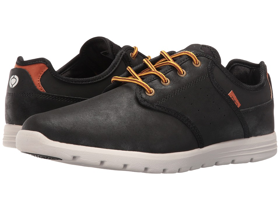 Circa - Atlas (Black/Light Gray) Men's Skate Shoes