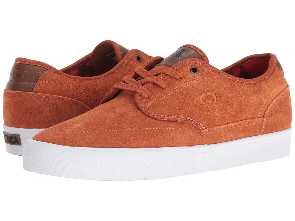 Circa - Essential (Rust/Bison) Men's Skate Shoes
