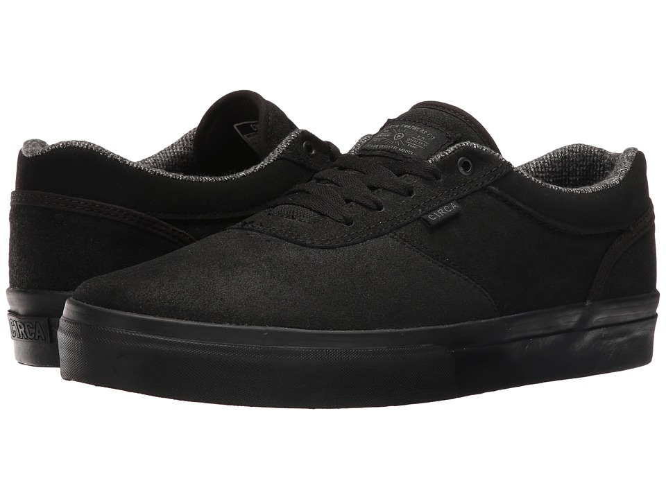 Circa - Gravette (Black/Shadow) Men's Skate Shoes