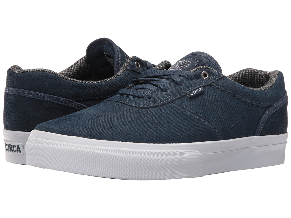 Circa - Gravette (Denim/White) Men's Skate Shoes