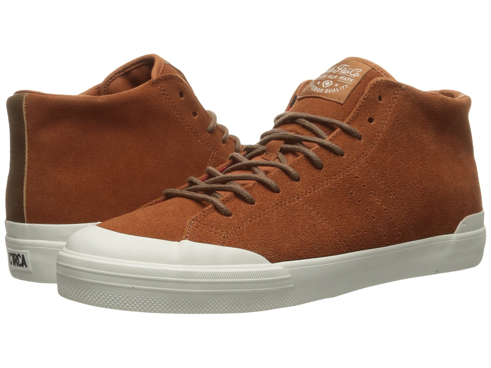 Circa - Fremont Mid (Tobacco/Gum) Men's Skate Shoes
