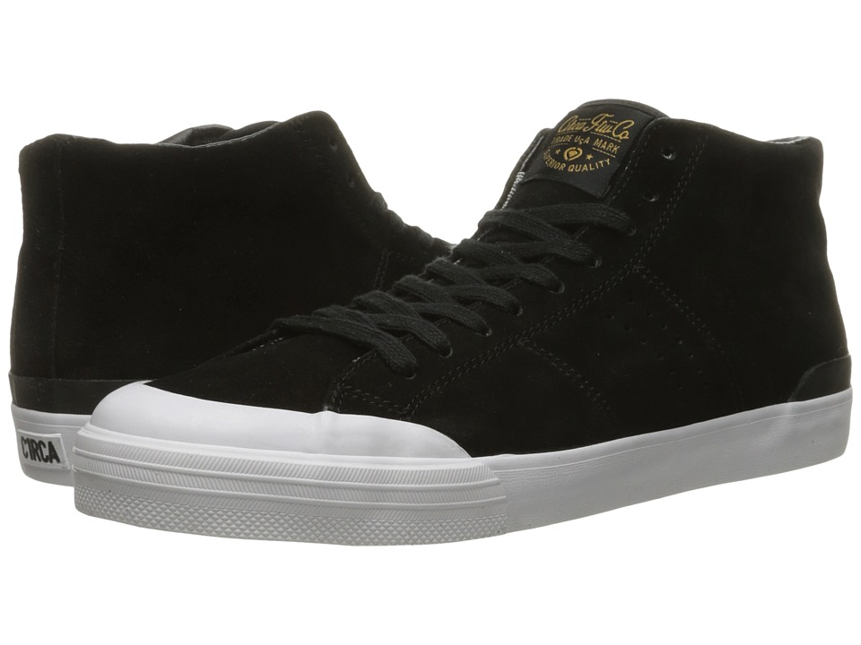 Circa - Fremont Mid (Black/Gold) Men's Skate Shoes