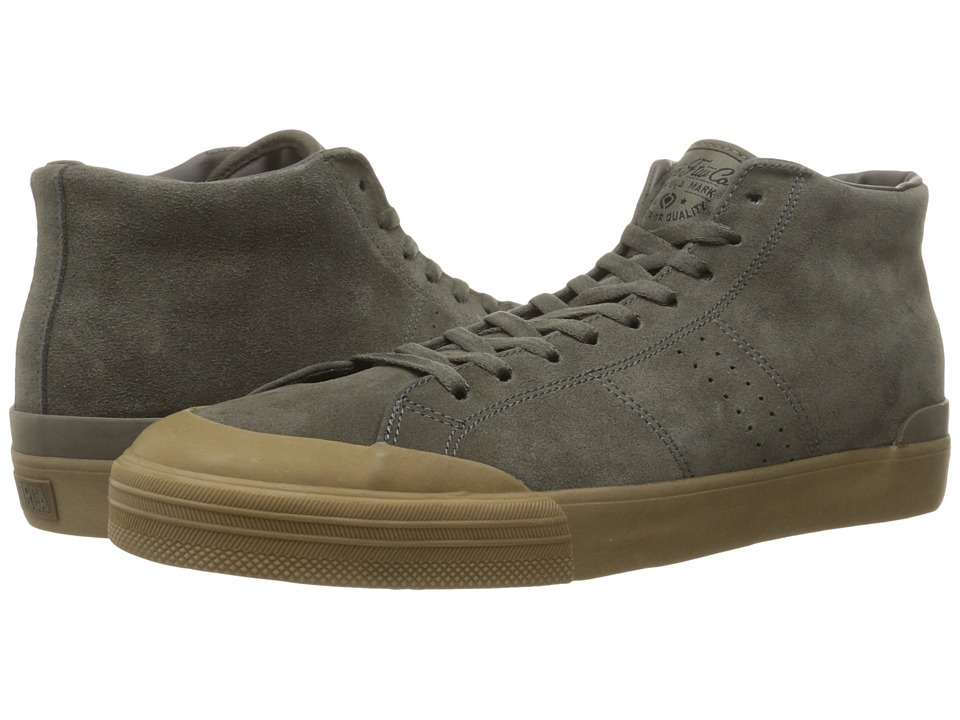 Circa - Fremont Mid (Charcoal/Gum) Men's Skate Shoes