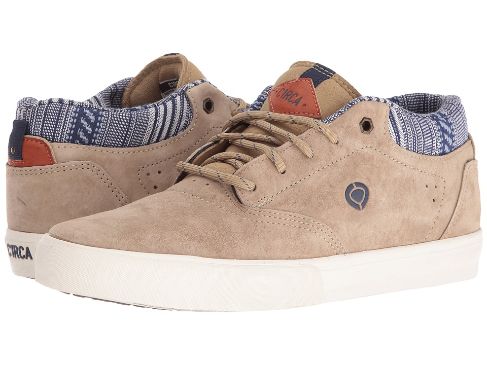 Circa - Lakota SE (Sand/Off-White) Men's Skate Shoes