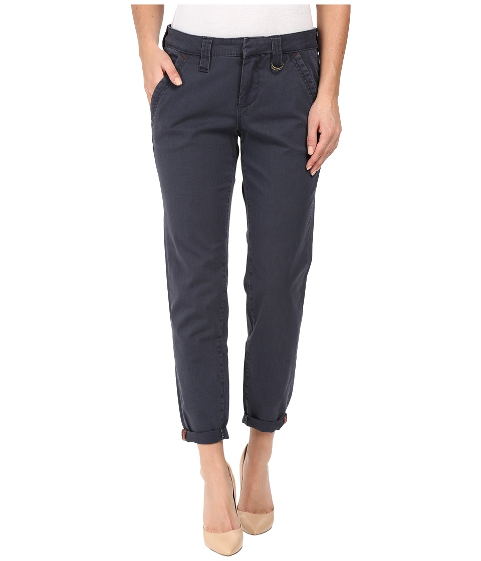 Jag Jeans - Dana Tapered Boyfriend Chino Pant in Bay Twill (Poseidon) Women's Casual Pants