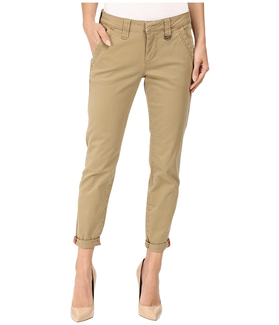 Jag Jeans - Dana Tapered Boyfriend Chino Pant in Bay Twill (Toffee) Women's Casual Pants