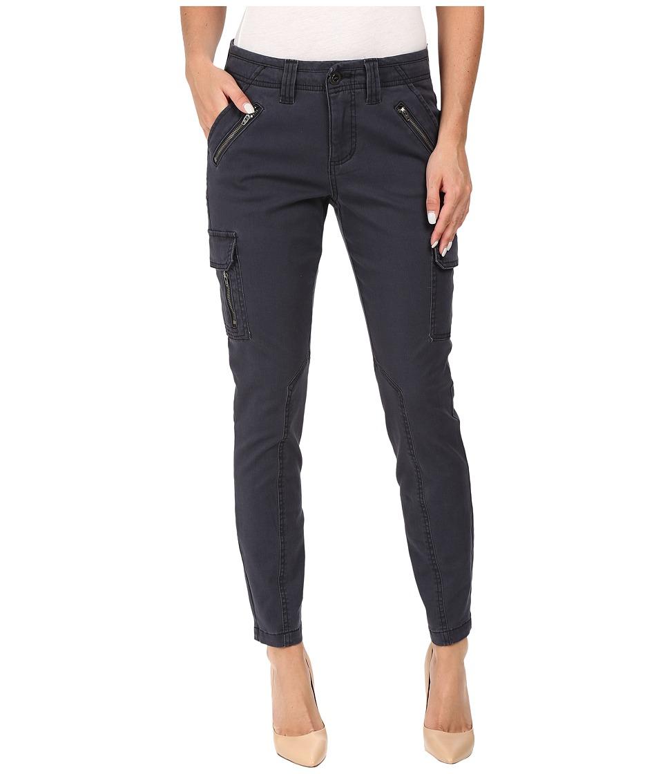 Jag Jeans Angie Skinny Cargo Pants in Bay Twill (Poseidon) Women