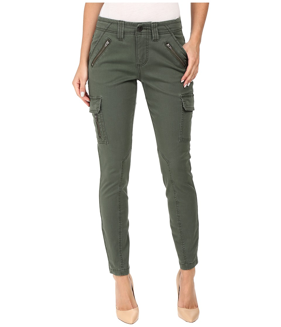Jag Jeans Angie Skinny Cargo Pants in Bay Twill (Deep Forest) Women