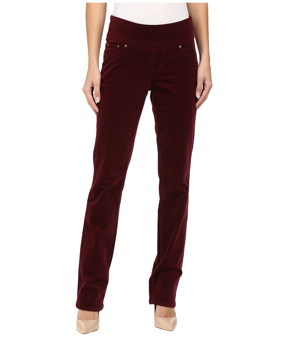 Jag Jeans - Peri Pull-On Straight 18 Wale Corduroy (Elderberry) Women's Jeans