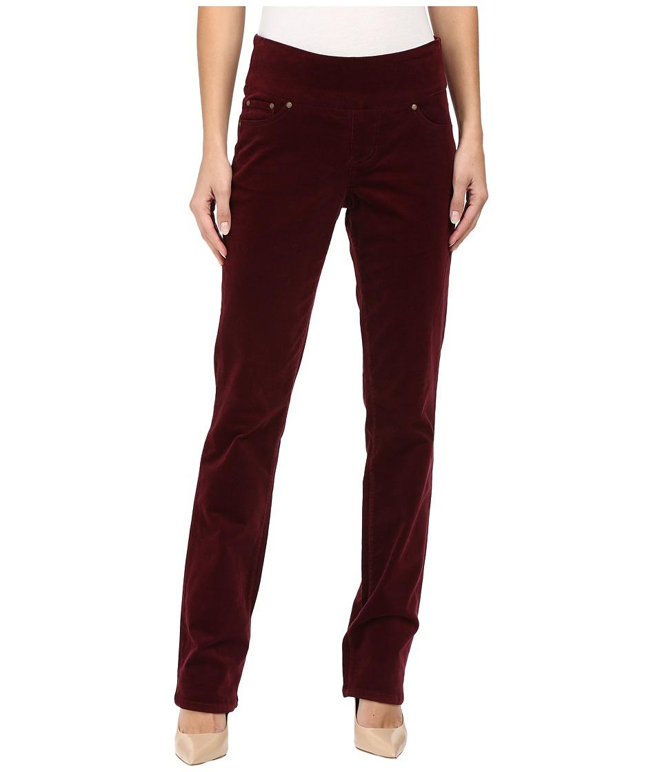 Jag Jeans - Peri Pull-On Straight 18 Wale Corduroy (Elderberry) Women's Jeans