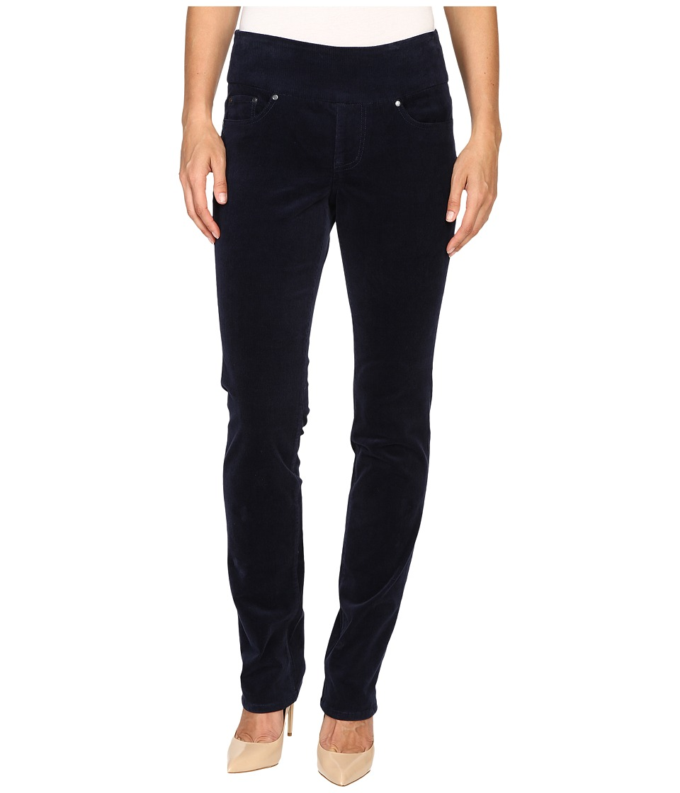 Jag Jeans - Peri Pull-On Straight 18 Wale Corduroy (Midnight) Women's Jeans