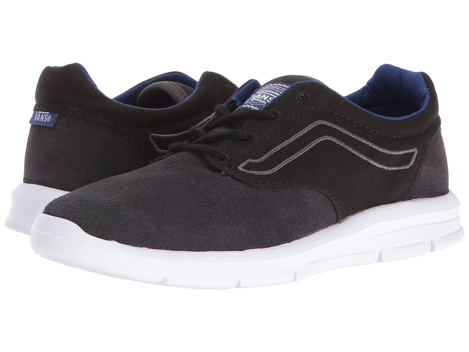 Vans Kids Iso 1.5 (Little Kid/Big Kid) ((Pop) Black/Sodalite Blue) Boys Shoes