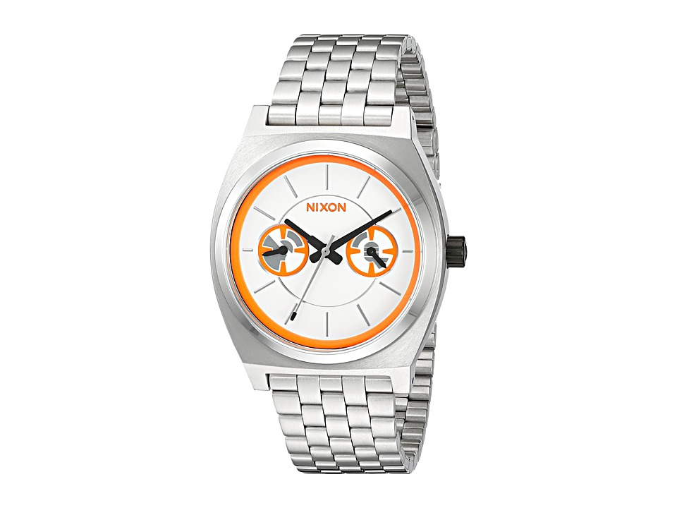 Nixon - Time Teller Deluxe - Star Wars Collection (BB-8 Silver/Orange) Watches