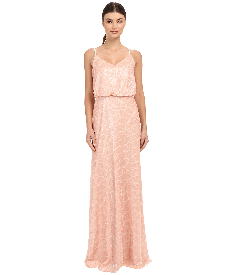 Donna Morgan - Blouson Sequin Gown (Posy) Women's Dress