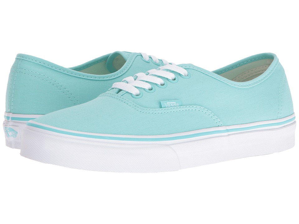 Vans - Authentic (Aruba Blue/True White) Skate Shoes