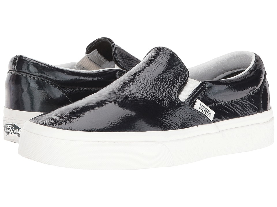 Vans - Classic Slip-On ((Hologram) Green Gables/Blanc De Blanc) Skate Shoes