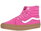 SK8-Hi Slim ((Light Gum) Raspberry Rose) Skate Shoes