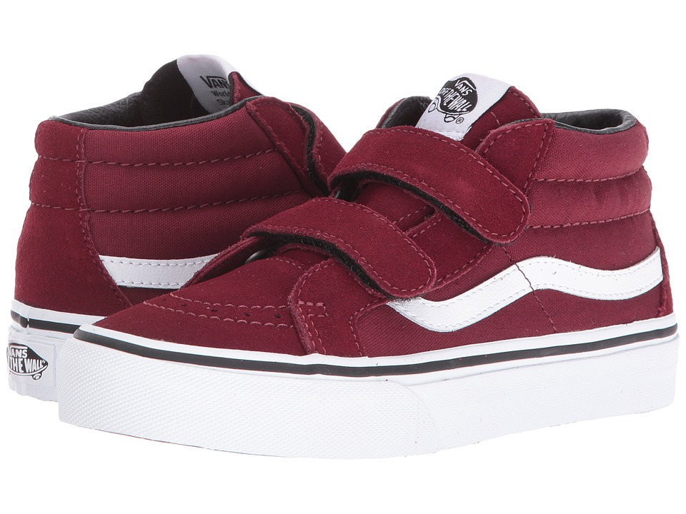 Vans Kids - SK8-Mid Reissue V (Little Kid/Big Kid) ((Canvas & Suede) Port) Boys Shoes