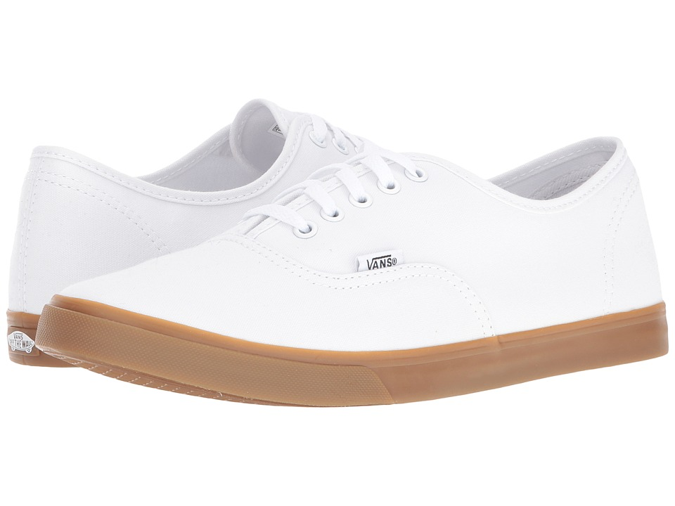 Vans - Authentic Lo Pro ((Light Gum) True White) Skate Shoes