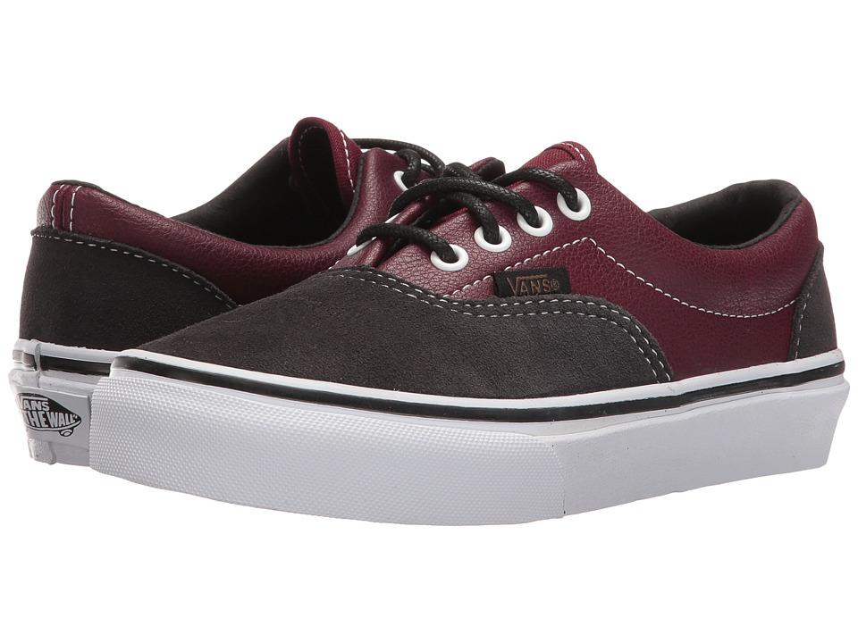 Vans Kids Era (Little Kid/Big Kid) ((Suede & Leather) Port Royale/Asphalt) Boys Shoes