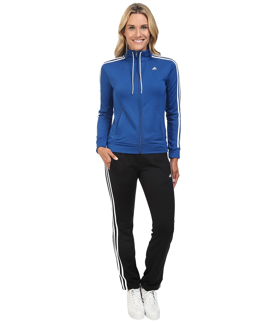 adidas - Essential Track Suit (Equipment Blue) Women's Suits Sets