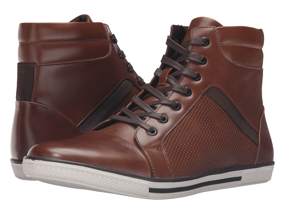 Kenneth Cole Unlisted - Crown Worthy (Cognac) Men's Lace up casual Shoes
