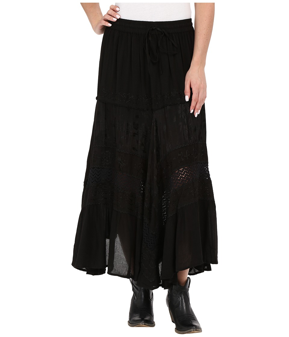 Scully - Honey Creek Marnie Skirt (Black) Women's Skirt