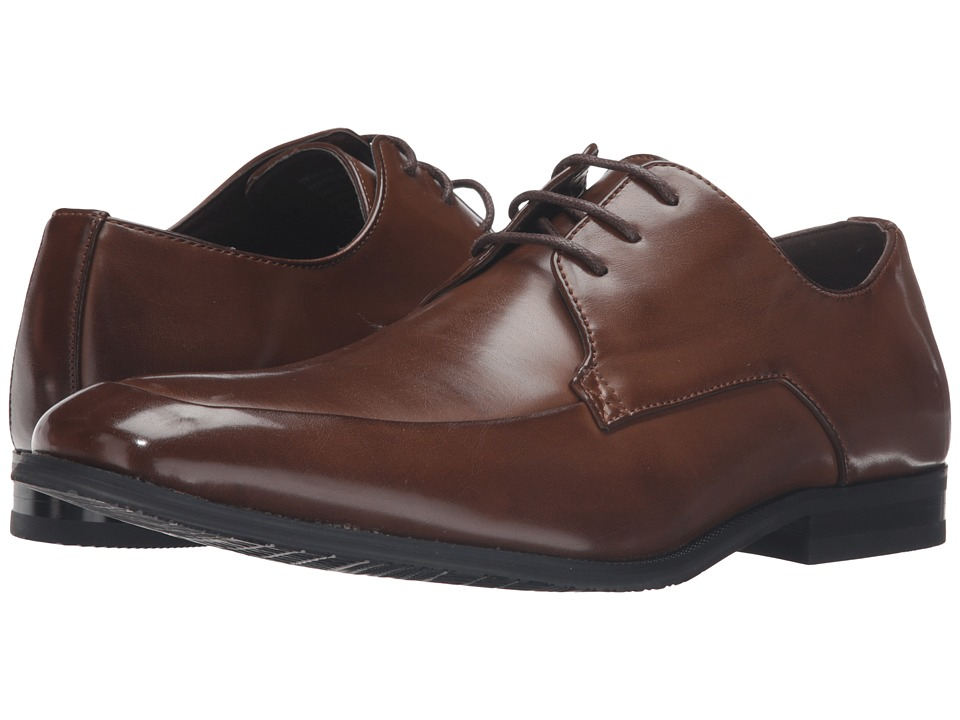 Kenneth Cole Unlisted - Win-ner Takes All (Cognac) Men's Lace Up Wing Tip Shoes