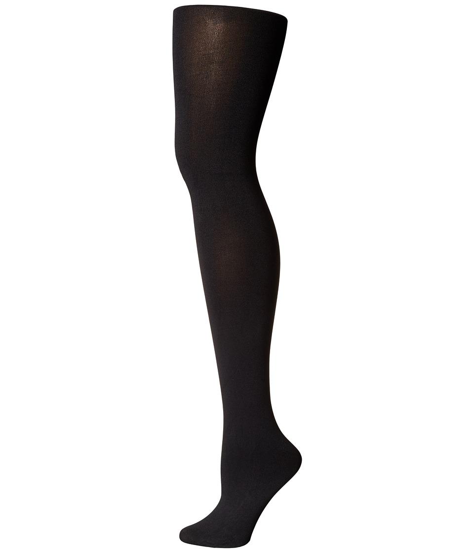 LAUREN Ralph Lauren - Solid Opaque Tights (Black) Hose